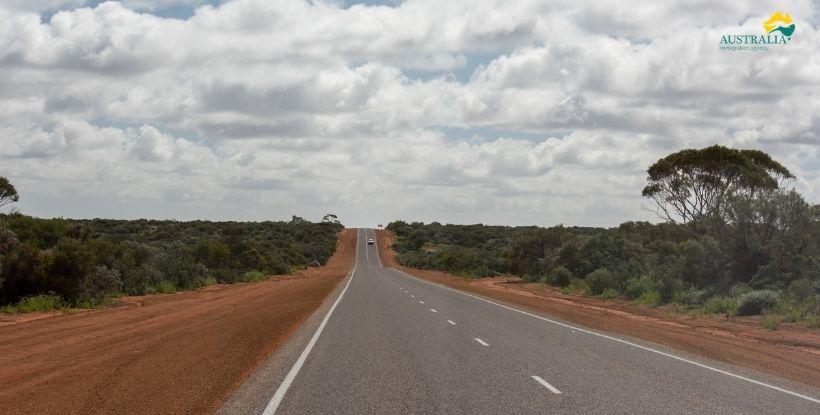 Australia desert